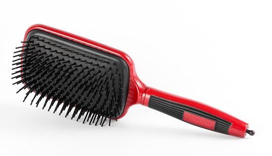 แปรงแพดเดิล (Paddle Brush) : หวีผมได้ดี นุ่มสบาย ลดการขาดหลุดร่วงของเส้นผม