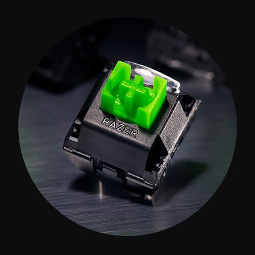 สวิตช์สีเขียว (Green Switch) : เพลิดเพลินกับเสียง Clicky ของคีย์บอร์ดขณะใช้งาน