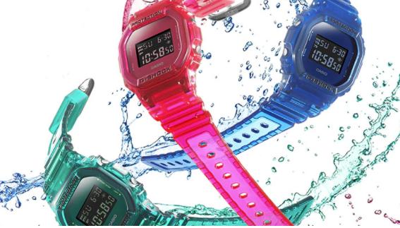 เลือกนาฬิกา Casio จากความสามารถในการกันน้ำ