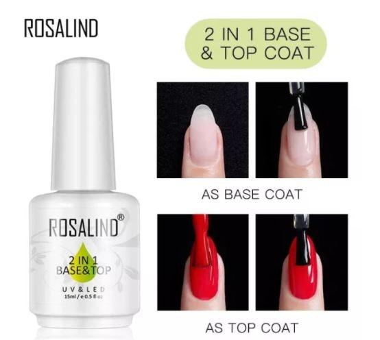 แบบ 2-in-1 เป็นได้ทั้ง Base Coat และ Top Coat สำหรับผู้ที่ต้องการความสะดวก