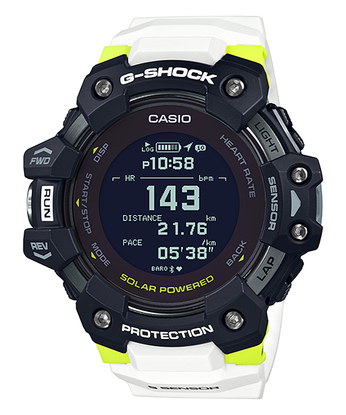 G-Shock ซีรีส์ G-Squad และ G-LIDE : นาฬิกาสำหรับคนรักการออกกำลังกาย