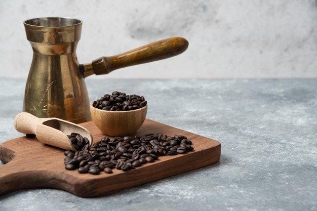 เลือกเมล็ดกาแฟจากระดับการคั่ว ซึ่งให้รสสัมผัสที่แตกต่าง