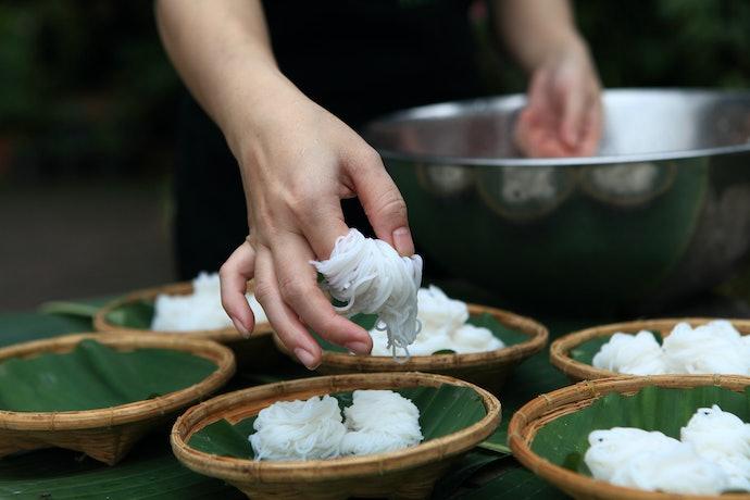 วิธีถนอมเส้นขนมจีนสดหลังทานไม่หมด
