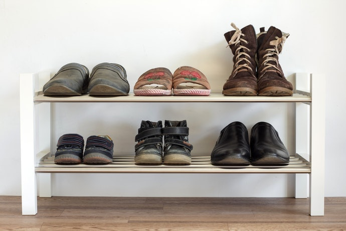 ตรวจสอบจำนวนรองเท้าที่ต้องการจัดวาง