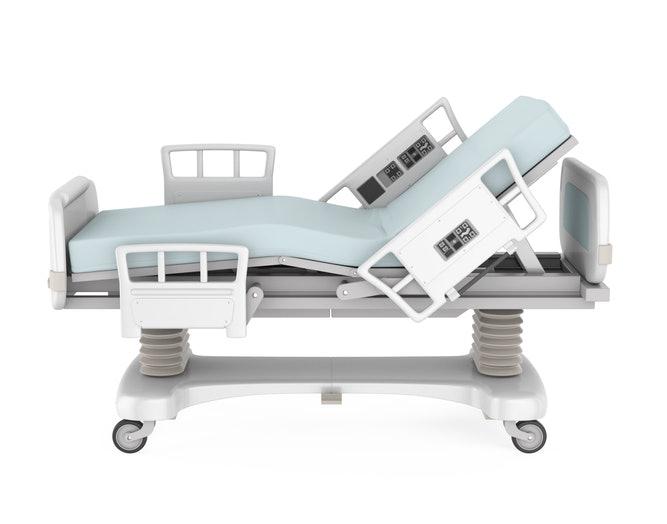 เตียง 3 ไกร์ สำหรับผู้ป่วยที่ไม่สามารถขึ้นลงเตียงได้ด้วยตนเอง