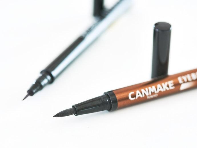 แบบหัวปากกา : เหมาะกับการวาดโครงคิ้ว