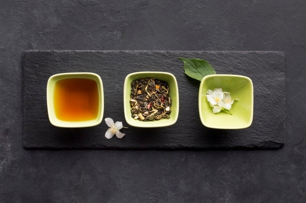 เลือกตามระดับความเข้มข้นของรสชาติชาเขียวมะลิ