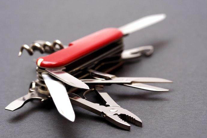 มีดพับแบบ Multi-Tools