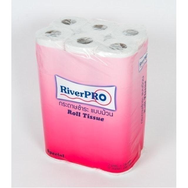 River PRO กระดาษชำระแบบม้วน 1
