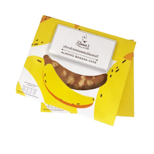 Genies เค้กกล้วยหอมผสมอัลมอนด์ 1