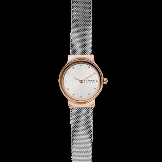 SKAGEN Freja Two-Tone Steel-Mesh Watch 1