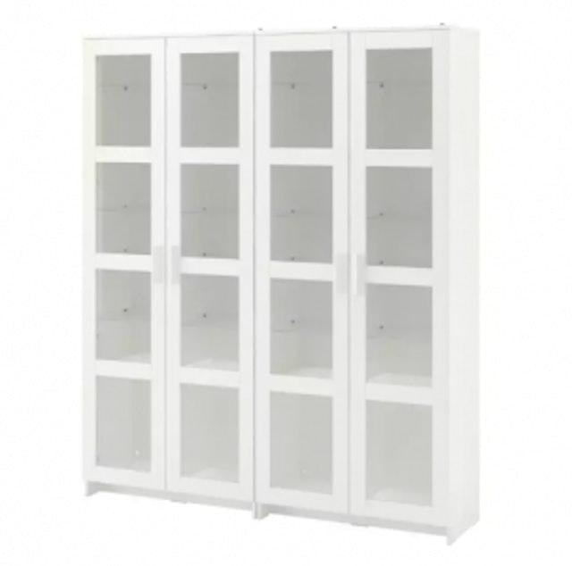 IKEA ตู้เก็บของบานกระจก บริมเนส (BRIMNES) 1