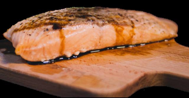 เชฟเต้ย  อาหารเช้าลดน้ำหนัก แซลมอนปรุงรส สูตรคลีน 1
