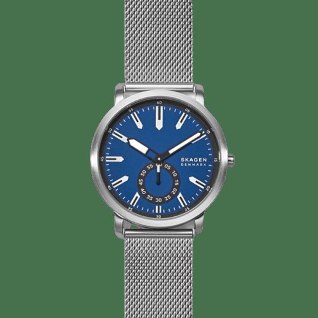 SKAGEN Colden Three-Hand Silver-Tone Steel-Mesh Watch 1