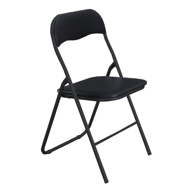 HAKONE เก้าอี้เหล็กเบาะหนังพับได้ 1