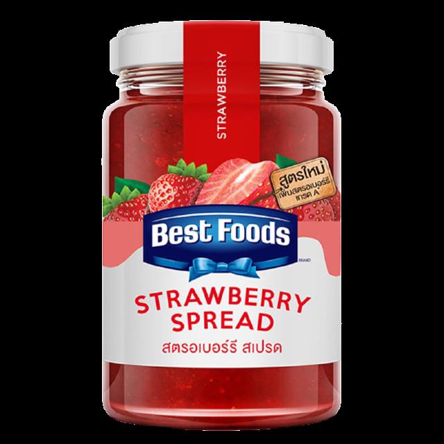Best Foods อาหารแห้งในเซเว่น แยมสตรอว์เบอร์รี่ 1