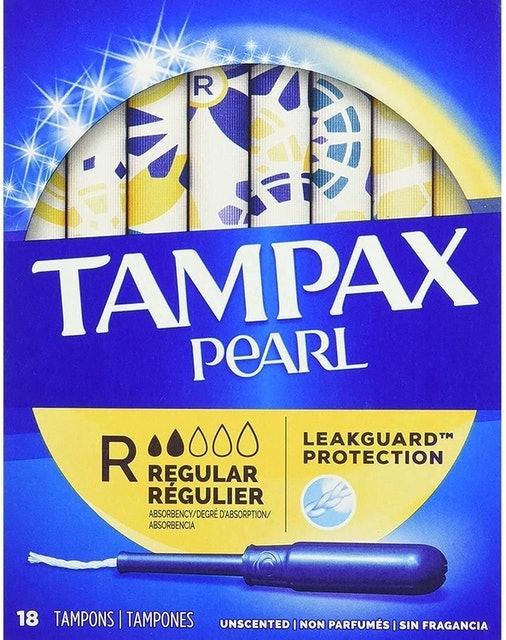 Tampax Pearl ผ้าอนามัยแบบสอด Tampons 1