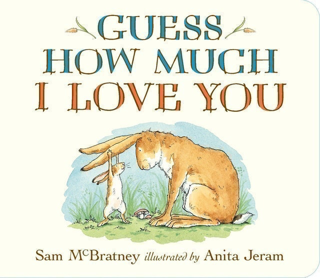 Sam McBratney Guess How Much I Love You 1