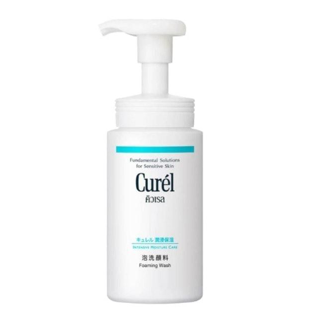 Curel มูสล้างหน้า Intensive Moisture Care Foaming Wash 1