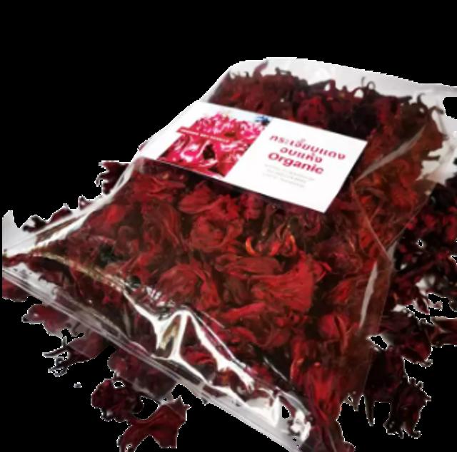 HAGLAMOON FARM กระเจี๊ยบแดงแห้ง (ออร์แกนิค) ไร้สารพิษ 1