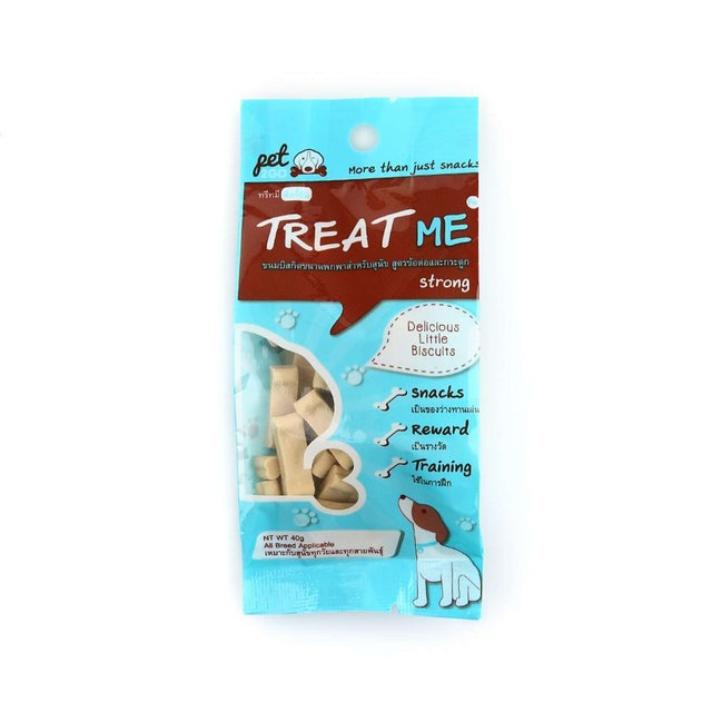 Pet2go ขนมสุนัข ทรีทมี สตรอง สูตรบำรุงกระดูกและข้อต่อ 1