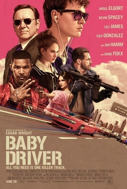 Sony Pictures Releasing Baby Driver 1