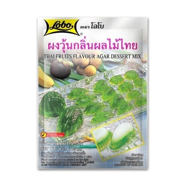 LOBO ผงวุ้นอะการ์ กลิ่นผลไม้ไทย 1
