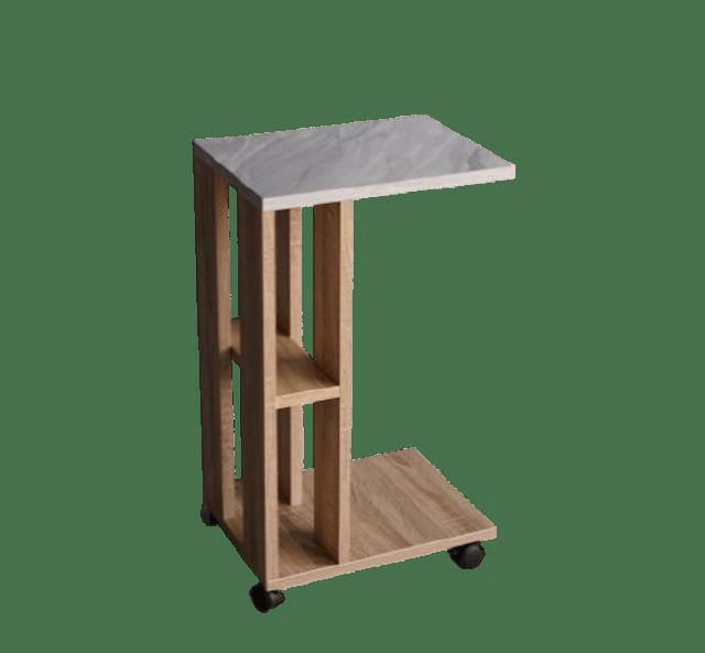 Inhome Furniture โต๊ะข้างเตียง/โซฟา รุ่น SS-4055-S-MB 1