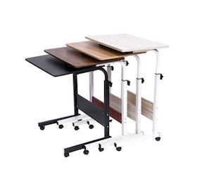 10 อันดับ โต๊ะอเนกประสงค์ ยี่ห้อไหนดี ฉบับล่าสุดปี 2021 ใช้งานง่าย เคลื่อนย้ายสะดวก มีทั้งแบบวางบนเตียง โต๊ะข้างเตียง และโต๊ะคร่อมเตียง 3