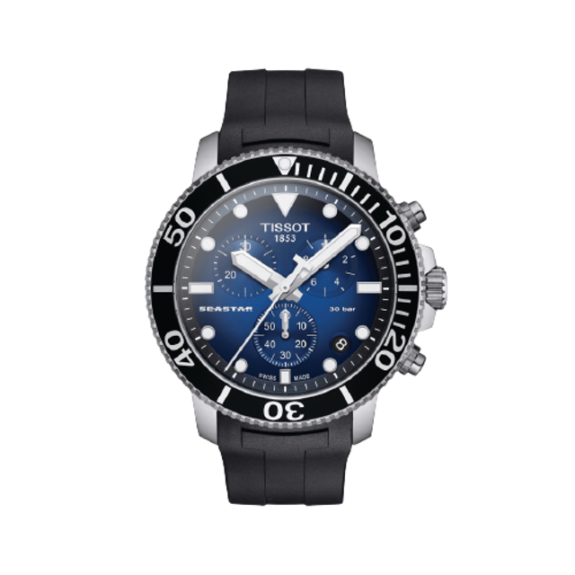 Tissot นาฬิกา Dive Watch รุ่น Seastar 1000 Chronograph 1