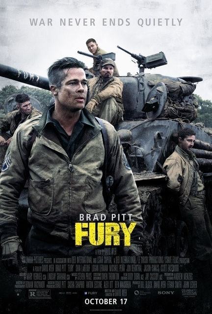 Sony Pictures Releasing Fury 1