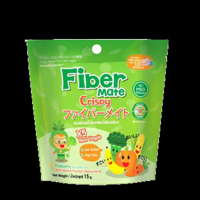 Fiber mate ผักผลไม้อบกรอบ 5 ชนิดสำหรับเด็ก 1