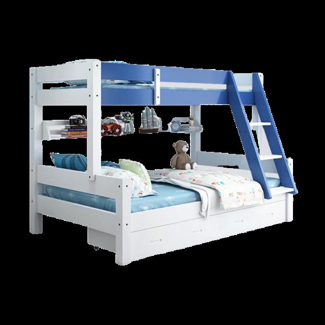 HomeHuk เตียงสองชั้น เตียงสองชั้นสำหรับเด็ก 1