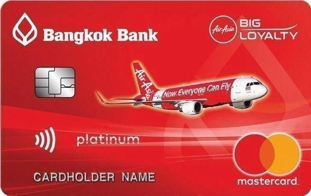 Bangkok Bank AirAsia Platinum MasterCard Credit Card 1