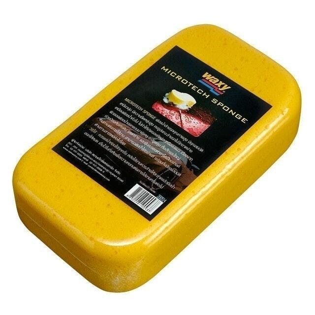 Waxy ฟองน้ำล้างรถ Microtech Sponge  1