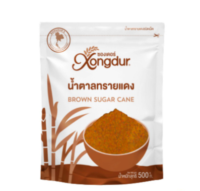 Xongdur  น้ำตาลทรายแดงชนิดเม็ด 1