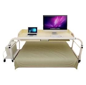 10 อันดับ โต๊ะอเนกประสงค์ ยี่ห้อไหนดี ฉบับล่าสุดปี 2021 ใช้งานง่าย เคลื่อนย้ายสะดวก มีทั้งแบบวางบนเตียง โต๊ะข้างเตียง และโต๊ะคร่อมเตียง 2