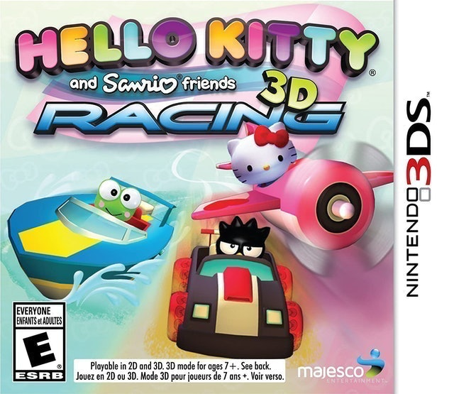 Scarab Entertainment Hello Kitty and Sanrio Friends 3D Racing 1