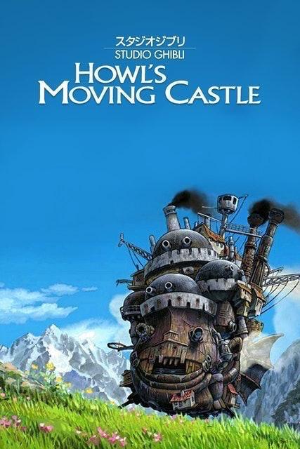 Studio Ghibli อนิเมะเดอะมูฟวี่ Howl's Moving Castle : ปราสาทเวทมนตร์ของฮาวล์ 1