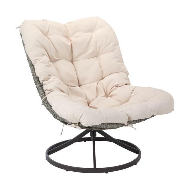 INDEX LIVING MALL เก้าอี้สนาม เก้าอี้สนามหมุนได้ รุ่น โซเมส 1
