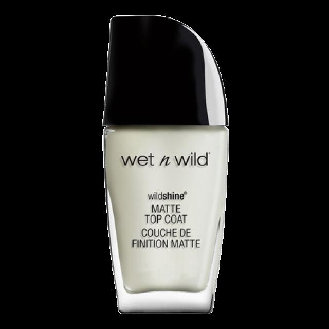 Wet N Wild ยาทาเล็บเนื้อแมตต์ Wild Shine Nail Color Matte Top Coat รุ่น E452A 1