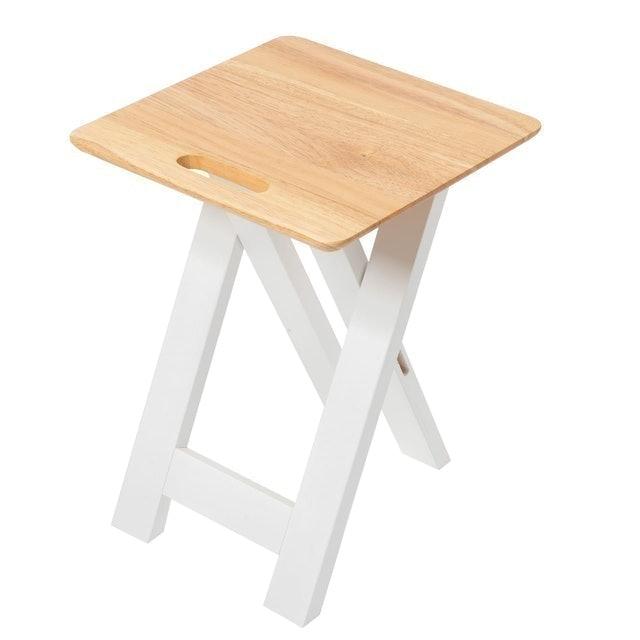 The Wood's Tale เก้าอี้ไม้แท้พับได้  1