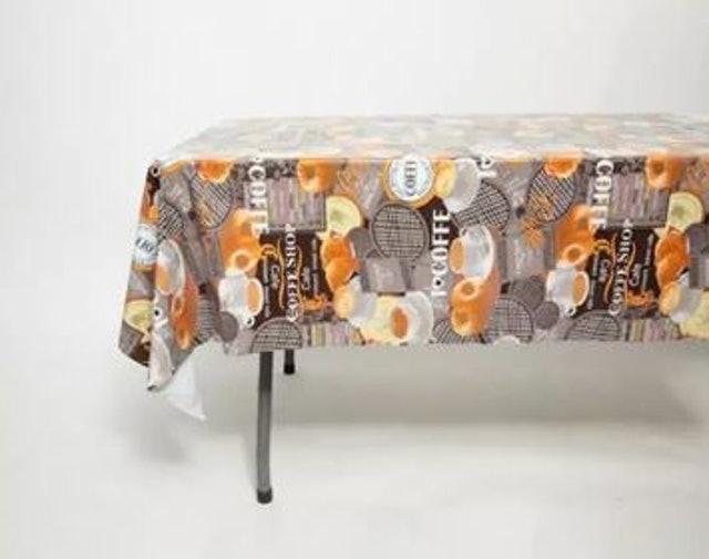 No Brand ผ้าปูโต๊ะพลาสติก PVC 1