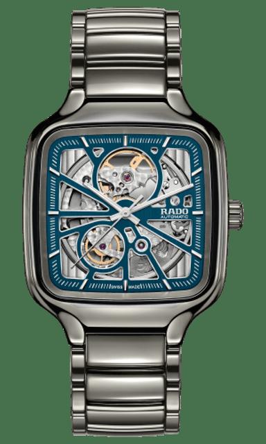 RADO นาฬิกาข้อมือ รุ่น  TRUE SQUARE AUTOMATIC OPEN HEART 1