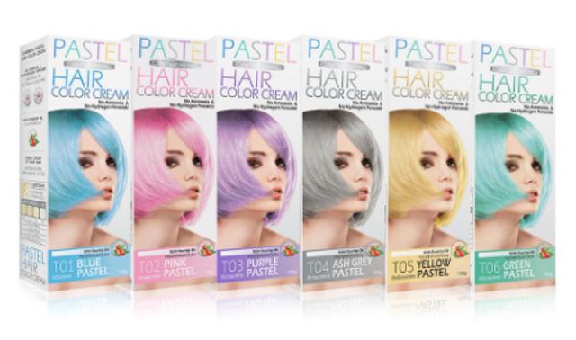 Carebeau แว็กซ์เปลี่ยนสีผมชั่วคราว Pastel Hair Color Cream 1