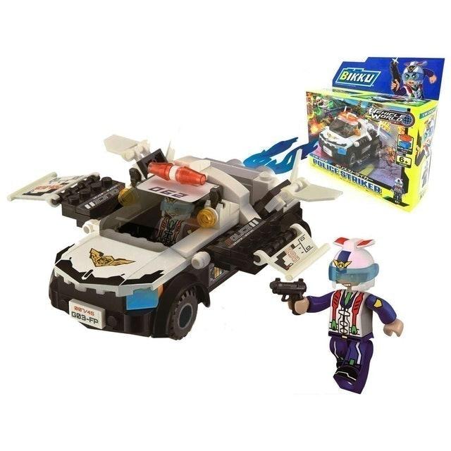BIKKU รถของเล่นเด็ก รุ่น Police Striker 1