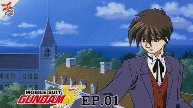 SUNRISE อนิเมะหุ่นยนต์ Mobile Suit Gundam W 1