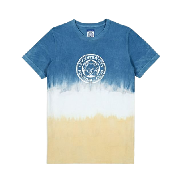 Leicester City Football Club  ชุดมัดย้อมไปทะเล เสื้อมัดย้อมสีธรรมชาติ 1