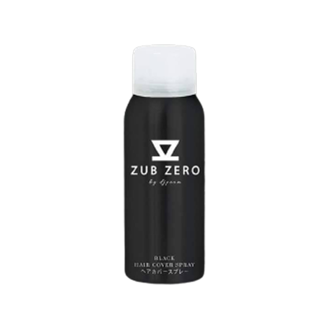 Zub Zero สเปรย์ปิดผมขาว Hair Cover Spray Black 1