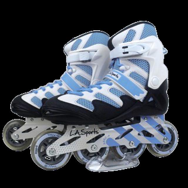 LA. SPORT รองเท้าโรลเลอร์เบลด รุ่น ADULT สีน้ำเงิน 1